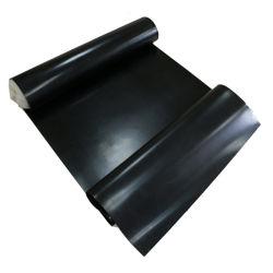 Resistente al ácido y alcalino de la hoja de caucho negro