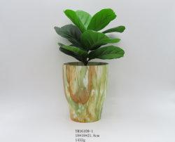 Großverkauf steuert Dekoration kundenspezifischen Porzellan-Vasen-keramisches Fertigkeit-Geschenk-keramischen Vase automatisch an