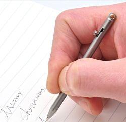 Creative Pure Titanium Mini Size 휴대용 키체인 펜 휴대용 여행