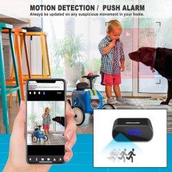Мини-Alram часы Home Monitor обнаружение движения камеры дистанционный мониторинг
