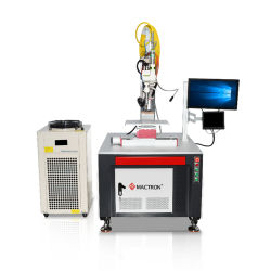 De industriële Ononderbroken Laser die van de Prijs 2kw Roterende Machine voor Verkoop lassen