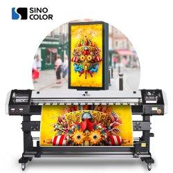 1.6m 공장 직판용 와이드 포맷 에코 용매 플로터 잉크젯 프린터 6 컬러(DX5 Dx7 I3200 헤드 포함) 스티커 라벨 비닐 PP 용지