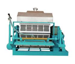 Produzione di vassoi di uova in pasta di fibra stampata per la produzione di vassoi di seedling