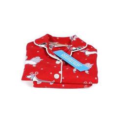 Children's 100% coton imprimé résistant au feu de flanelle 2PC Pyjamas CFR 1615/1616 Printemps/Automne
