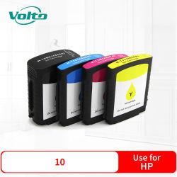 4 cartuccia di inchiostro compatibile della ricarica della stampante dell'HP 10 di colori per il getto di inchiostro 1700 1700d 1700cp 2000 2000c 2000cn 2200 di affari dell'HP 2250 2230 2280 2300