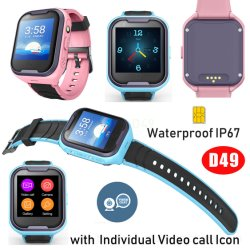 4G Sumergible Kids Tracker GPS reloj teléfono con mucha memoria