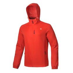 남성용 방수 방풍 양복과 후디 윈드 브레이커가 있는 가벼운 옷 메쉬 안감이 있는 레인 재킷