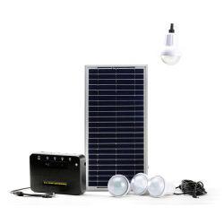 시골을%s 전화 충전기를 가진 LED 가벼운 태양 에너지