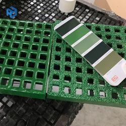 지면 응용과 소성 물질 FRP 섬유유리 격자판
