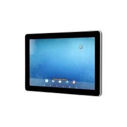 10 인치 IP65 무인 상태 소포 납품 해결책을%s 산업 인조 인간 Touchscreen NFC/Qr 부호 스캐너 정제