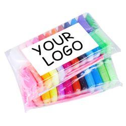 36 Les couleurs de l'air sec de modélisation de la lumière de l'argile en sac à fermeture éclair emballés dans de simples Pack pour le commerce électronique
