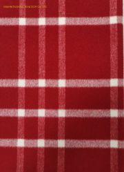 Comprobación de lana de alta calidad de tejido Chaqueta Chaqueta