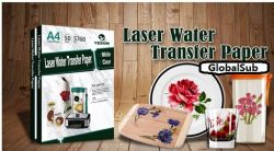 Sublimation Blanks A4 Laser water Slide Decal Transfer Printing Paper