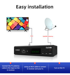 H.264 標準 HD デジタル Cccam ケーブルレシーバ