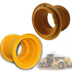 OTRの抗夫およびスキッドの雄牛のローダーのタイヤのタイヤの鋼鉄車輪の縁