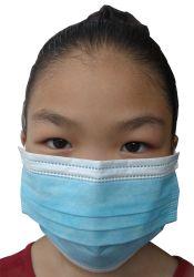 50 pièces jetables Masques chirurgicaux dentaires avec masques Ear-Loop 3 plis de la grippe le nez de l'allergie masque anti-poussière Des filtres anti-poussière bleu