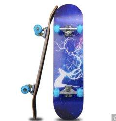 블랭크 데크 스케이트보드 10대 또는 성인(긴 시간)을 위한 4륜구동 스케이트보드 롱보드