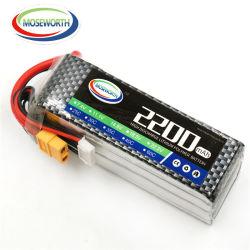 60c de Navulbare IonenBatterij van het Lithium 2200mAh 18.5V voor Batterijen van het Vliegtuig van het Speelgoed RC van de Afstandsbediening de Model