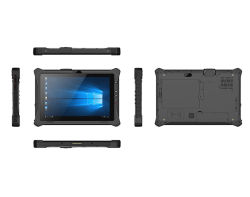 Grau militar Rugged Tablet PC para fins militares e Aplicações marítimas