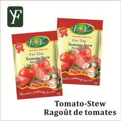 粉の容易な調理に味をつけるトマトのシチューの味の即席めん類