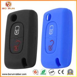 Aangepaste zachte rubberen beschermhoes voor autosleutels