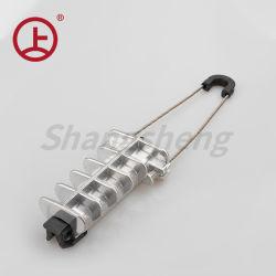 PAL1500オーバーヘッドライン光ファイバ張力クランプADSSケーブルのアンカークランプ