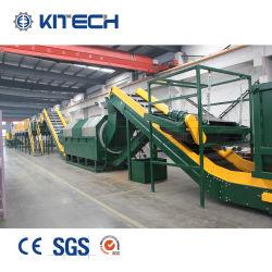 Los residuos de LDPE PP PE película plástica Jumbo Bolsa tejida máquina de reciclaje de la Línea de lavado de aplastamiento