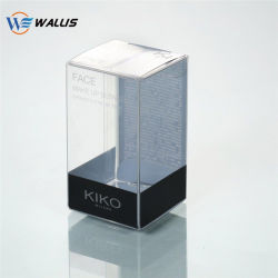 Het duidelijke Vouwbare PS van het Huisdier van pvc pp van de Druk Plastic Kosmetische Pakket van de Blaar van de Lippenstift