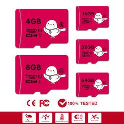 공장 메모리 카드 마이크로 TF SD 카드 2g 4G 8g 16g 32g 64G 128GB