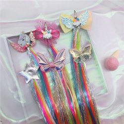 Оптовая торговля детьми с крутыми Wig с бабочка и со вкусом