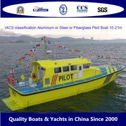 Bestyear 15M e 20m Iacs-Classified barco-piloto de fibra de vidro para trabalhar