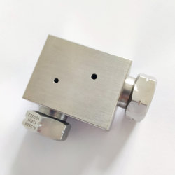 1/4 Krümmer schließen Hochdruckgefäß an; Passender Hochdruckadapter