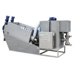 El tornillo de deshidratación de lodos de tratamiento para el procesamiento de refresco