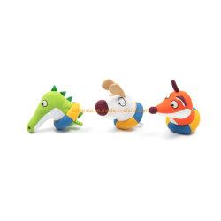OEM および ODM の動物の形はカスタマイズされたぬいぐるみのプラシ天のおもちゃをぬい 犬のかみ砕いたおもちゃ