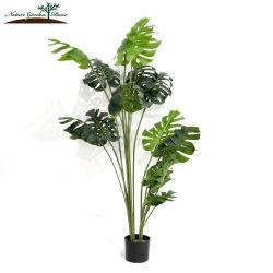 Simulation Monstera Green Tree 인공 정글 식물