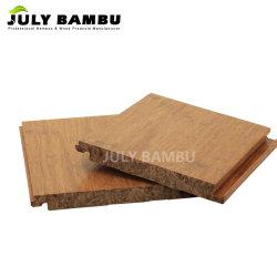 bevloering van het Bamboe van de Karamel van 15mm de Stevige, de Bevloering van het Parket van het Bamboe
