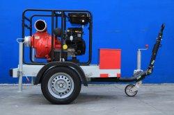 중국 공장 6in 20HP 하수 오물 펌프 가격 탈수 가솔린 쓰레기 수도 펌프