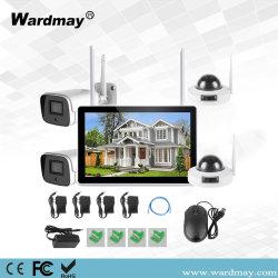 Tuya 4CH 2.0MP 10 インチ LCD ワイヤレス IP NVR キットビデオ レコーダ・サーベイランス Smart Home Security Camera System