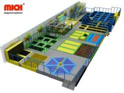 Proveedor de trampolín de salto de 20 pies de Venta caliente de la alfombrilla de gimnasia de trampolín de los niños pequeños en el interior del parque equipo