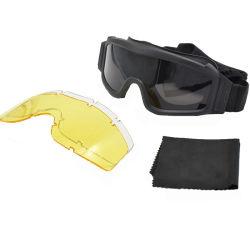 De ballistische Militaire Beschermende brillen van de Visie van de Nacht van de Helm van de Glazen van het Leger van de Apparatuur Beschikbare Tactische Militaire voor de Politie van het Leger