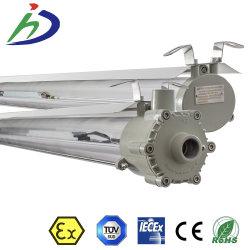 Dekking van PC Transparant van Exproof van de Legering van het aluminium de Lineaire Lichte