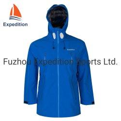 Los hombres chaqueta de moda ropa casual- de 3 capas de poliéster chaqueta chaquetas impermeables chaquetas de asalto y permeable para actividades al aire libre prenda
