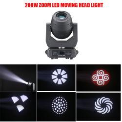 새로운 300W/200W 줌 LED 움직이는 헤드 라이트 스테이지 조명