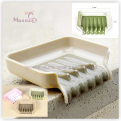 مستلزمات الحمام ملحقات Trickle Soap/Sponge Tray مع كأس الشفط