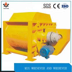 Carga automática tipo forzado del eje de doble elevación con mezclador de concreto