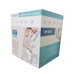 Sancai freies Beispielkundenspezifischer Größen-gewölbtes Papier-verpackenkasten für Baby-Träger