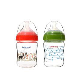 De Vrije het Voeden van de Baby BPA Flessen van het Drinkwater van de Fles van de Melk van het Flessekind Brede Hals