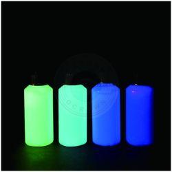 Les bougies à l'obscurité de la Poudre lumineuse, vernis à ongles pigments colorants