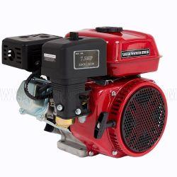 Utilisation générale 4 temps refroidi par air 6.5HP GX200 moteur à essence de 168F