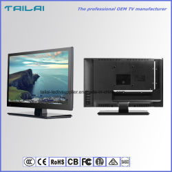 "OEM ODM DC12V LED de 15,6"" Portable voiture USB TV avec HDMI"